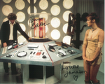Tom Baker, Louise Jameson  - Multi signed DOCTOR WHO Genuine Signed Autographs 10 x 8 COA 10262